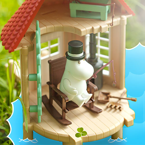 15756 Moominpappa​​ with ​fishing​ house(Released Jul,2018)