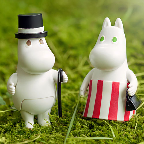 15759 [Figurine ​Collection] Moominpappa​, ​​Moominmamma​​, ​​Snufkin(Released Jul,2018)